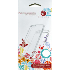 Накладка Zibelino Ultra Thin Case для Alcatel One Touch Pixi 4 (4034D) (прозрачный)